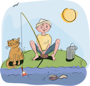 boy_and_cat_fishing