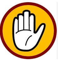 Caution - Hand