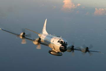 NOAA WP-3D Orion weather reconnaissance aircraft